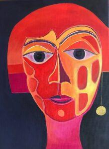 face me red, kerrie bonnel,art
