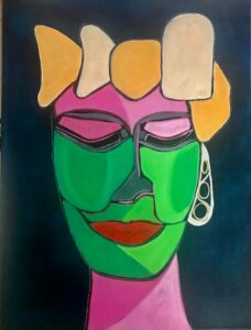 Bonnel, Kerrie, Art. Face me crown
