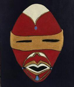 Mask me one, art