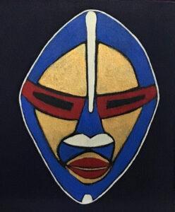 Bonnel, Kerrie. Mask Me One, Art.