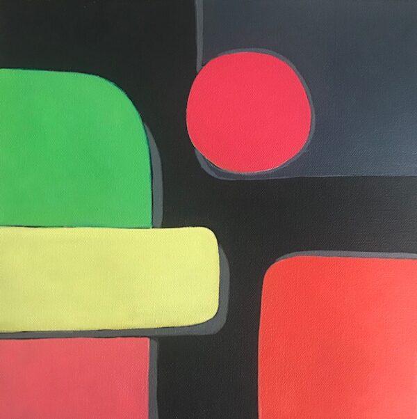 Geometric shapes One, art
