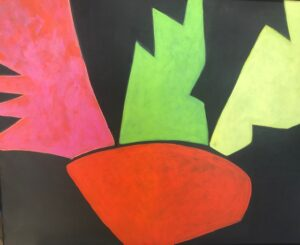 Bonnel, Kerrie. Orange Pot, art