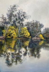 Kleinboonschate, Robert. Riverscape Series III, art