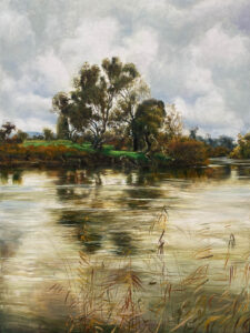Kleinboonschate, Robert. Riverscape Series art