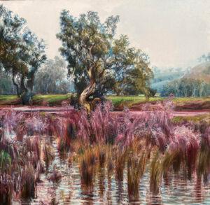 Kleinboonschate, Robert. Riverscape Series art