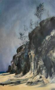 Kleinboonschate, Robert. Sand Cliff Series I, art