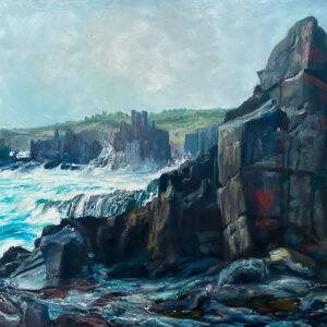 Kleinboonschate, Robert. Sand Cliff Series II, art