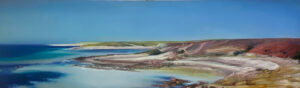 Kleinboonschate, Robert. Sand Cliff Series IV, art